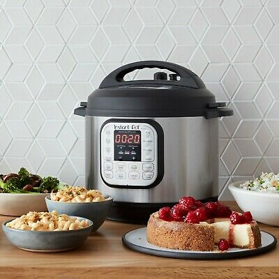 $119.98 • Buy Instant Pot DUO80 8-Quart 7-in-1 Multi-Use Programmable Pressure, Slow, Rice.