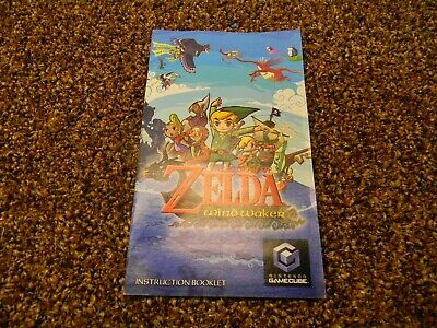 $18.95 • Buy The Legend Of Zelda The Wind Waker Gamecube Instruction Manual Only