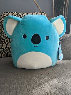 $ CDN45 • Buy Squishmallows 12  Inch Kevin Teal Koala Canadian Exclusive 2020 Squishmallow HTF