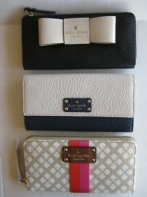 $ CDN55.81 • Buy NEW WITH TAGS Kate Spade Wallet Clutch Or Zip-around  *SELECT YOUR STYLE*