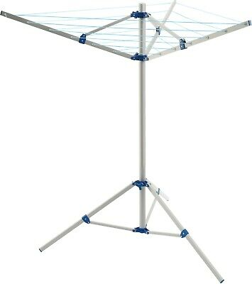 Portable Rotary Clothes Washing Line Airer Dryer Lightweight Aluminium Camping • 34.99£