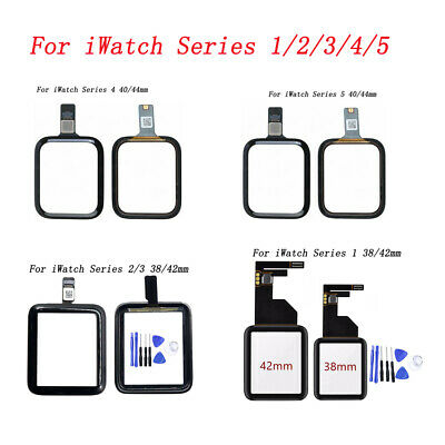 $ CDN88.76 • Buy For Apple Watch IWatch Series 1/2/3/4/5 Front Touch Screen Digitizer Glass Lot