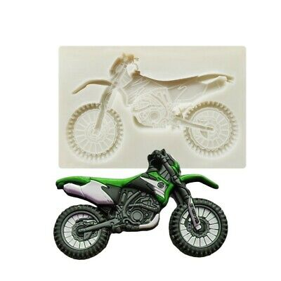 £3.99 • Buy Motor Bike Silicone Mould Cake Decorating Gum Paste Sugar Topper Chocolate Mold