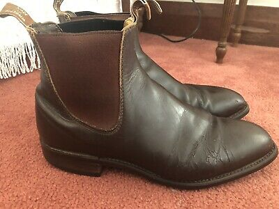 AU23.50 • Buy R M WILLIAMS Comfort Craftsman Leather Boots Men's Size 9 G