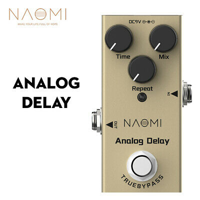 $ CDN26.17 • Buy Electric Guitar Analog Delay Effect Pedal Mini Single Delay Pedal True Bypass