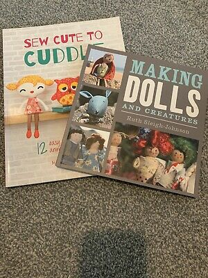 Doll Sewing Books • 2.60£