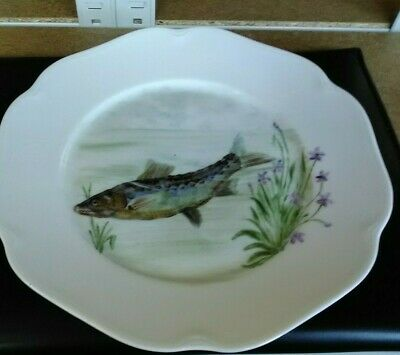 Rosenthal Plates, Set Of 4, Each With Different Fish Scene    • 8£