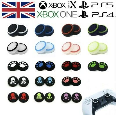£1.99 • Buy XBOX ONE 360 Controller Thumb Grips Silicone Rubber Analog Stick Pro Cap Covers