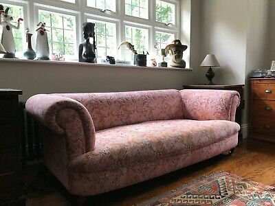 Tetrad Grand Sofa John Lewis Lovely Pink Colour, Comfy And A Bargain • 155£