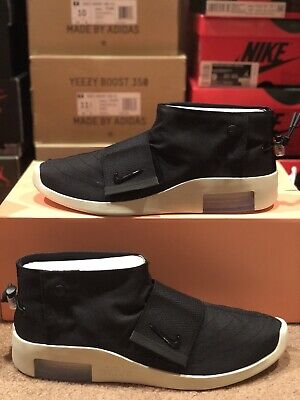 $120 • Buy New Nike Lab Air Fear Of God Moccasin MOC Shoes AT8086-002 Black Men's Size 10