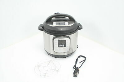 $54.51 • Buy Instant Pot Duo 7-in-1 Electric Pressure Cooker 6 Quart 14 One-Touch Programs
