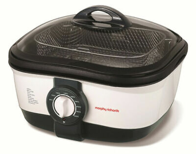 Morphy Richards 5L Intellichef 1500W Multi Cooker 562020 Grill/Steam/Fry/Boil • 49.99£