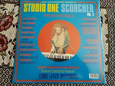 Studio One Scorcher , Instrumental ,  SJR  Label  , 2 X LP • 25.99£