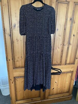 $9.47 • Buy Zara Maxi Shirt Dress Size Small - Excellent Condition