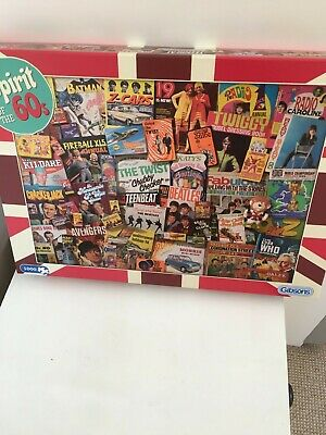 Gibson Spirit Of The 60's, Puzzle 1000 Pieces • 3£