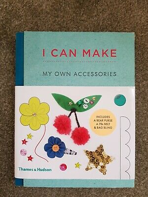 I Can Make My Own Accessories Hardback Book Crafting Sewing Present  • 2.99£
