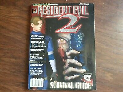 $40 • Buy Resident Evil 2 Collectors Edition Survival Guide (RARE)