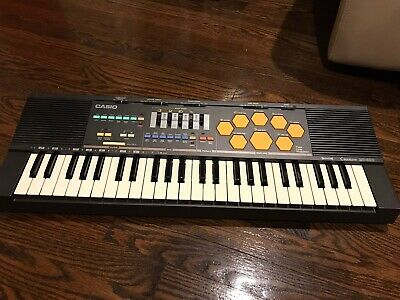 $75.55 • Buy Casio Casiotone Superdrums Keyboard MT-520 Synthesizer Electronic With Drum Keys