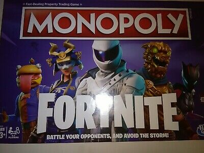 $6 • Buy New Monopoly: Fortnite Edition Board Game