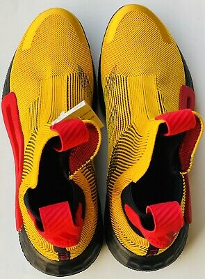 $ CDN106.39 • Buy Adidas N3XT L3V3L Laceless Basketball Shoes Gold Red Scarlet F36292 Size 13 NEW