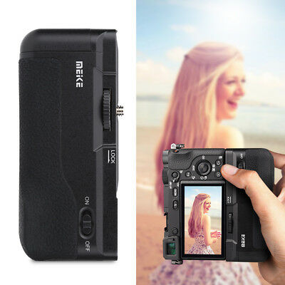 AU71.21 • Buy Meike Vertical Battery Grip Holder Pack For Sony A6300 A6000 Camera AL