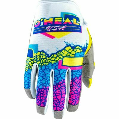 AU34.95 • Buy Oneal MX 2021 Mayhem Crackle 91 Yellow/White Off Road Motocross Dirt Bike