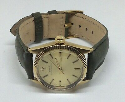 $ CDN4399.68 • Buy Rolex 14k Vintage Gold Rolex Oyster Perpetual 31mm Ref. 6551 (Includes 2 Bands)