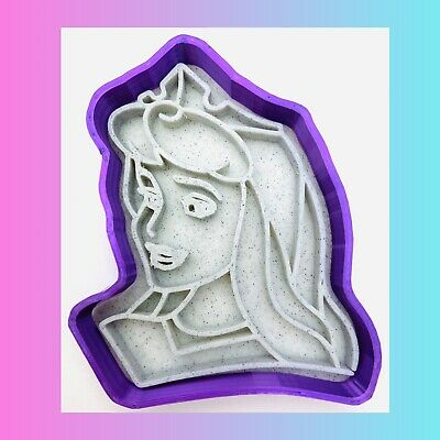 £4.99 • Buy Aurora From Sleeping Beauty Princess Cookie Cutters