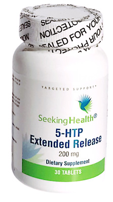 AU42.99 • Buy Seeking Health 5-HTP Extended Release 200 Mg 30 Tablets