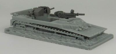28mm 1/56 3D Printed WWII  British Landing Craft Tracked Buffalo Waterline Model • 18£