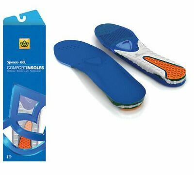 Men's Spenco Gel Comfort Shoe Insole With Cushioning And Support Genuine • 13.99£