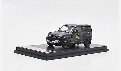 1/64 Scale Land Rover NEW Defender Black Diecast Car Model Collection Toy NEW • 27£