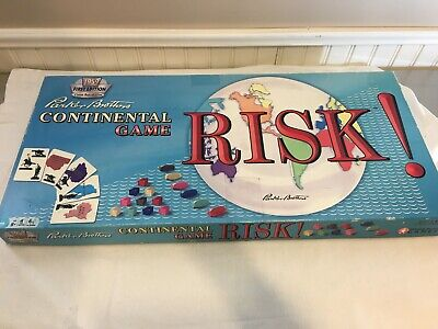 $24.95 • Buy RISK 1959 Continental Game First Edition Classic Reproduction - Parker Brothers