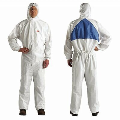 £10.70 • Buy 3M Protective Spray Painting Suit Overall Coverall 4540+ Type 5/6- L Disposable