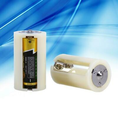 AU14.25 • Buy 4X Cell Battery Converter Adaptor Holder Case Box 3 AA Battery To D Size Battery