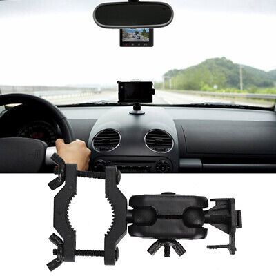 AU10.61 • Buy Car Dash Cam Mount Rearview Mirror Camera Holder Stand Video Recorder Bracket SS