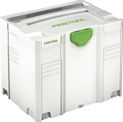 Festool 497566 Systainer T-loc Sys 4 Tl Carry Case Tool Box Brand New • 46.99£