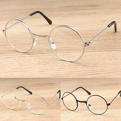 Kids Girls Boys Round Clear Lens Glasses Fashion Party  • 4.75£