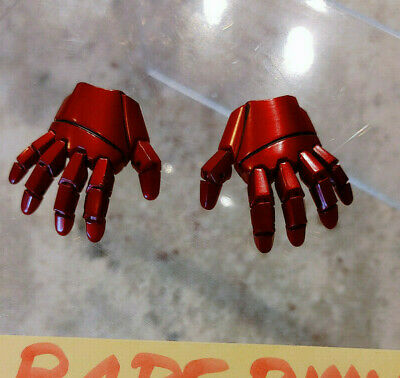 $39.79 • Buy (USA) Hot Toys Iron Man Mark Articulated Hands Set Spider-Man Homecoming 1/6