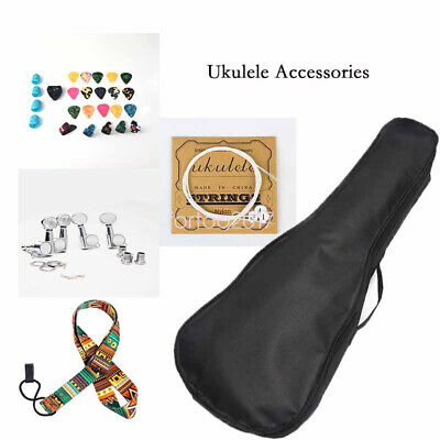 AU20.99 • Buy Single Layer Ukulele Bag Waterproof Storage Case With Instrument Accessories