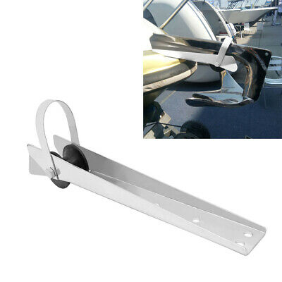 Stainless Steel Boat Bow Anchor Roller Bracket 390mm Marine Yacht Anti-rust • 29.63£