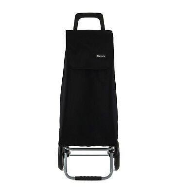 67L Large Lightweight Wheeled Shopping Trolley Push Cart Bag With Wheels New • 24.99£