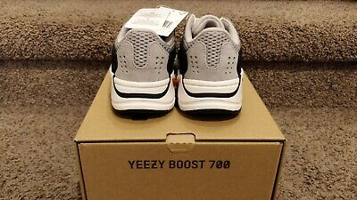 $ CDN573.12 • Buy Yeezy Boost 700 Wave Runner Kids Size 2 FU9005 NEW WITH BOX