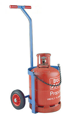 £179 • Buy Small Propane /  Calor Gas Cylinder Trolley 200mm Solid Wheels - SC15