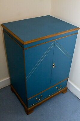 £250 • Buy Upcycled Vintage Antique Cocktail Drinks Cabinet