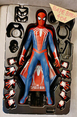 $248 • Buy (USA) Hot Toys VGM31 Spider-Man Advanced Suit 1/6 PS4 Incomplete Figure Set
