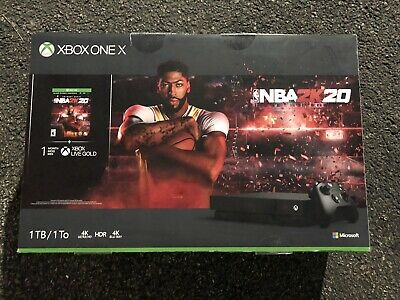 $558.88 • Buy New Xbox One X 1TB Console – NBA 2K20 Special Edition Bundle