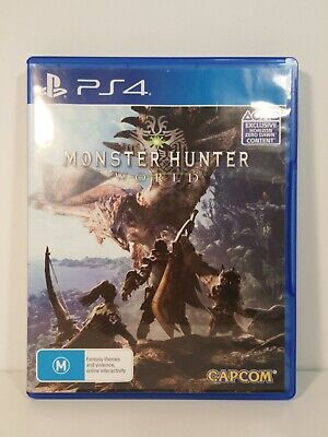 AU42.90 • Buy Monster Hunter  World (Sony PlayStation 4, 2018)