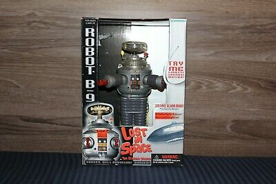 $ CDN355.38 • Buy Trendmasters Lost In Space TV Electronic Robot B9 Complete In Box (1998)