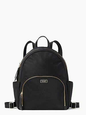 $ CDN301.87 • Buy Kate Spade Dawn Large Backpack Bag Black Nylon $299 Brand New Tags 100% Athntc